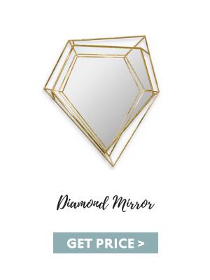 interior design Interior Design Studio in Asia: Habitus Design Group diamond mirror