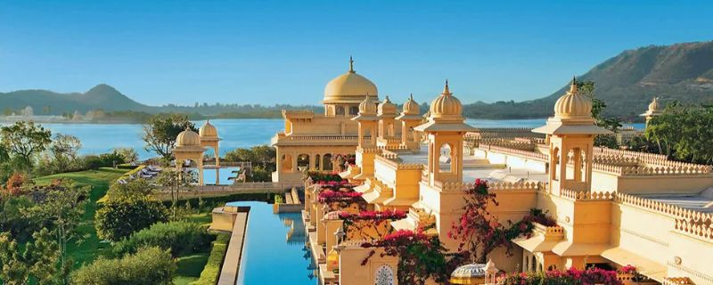luxury hotels in india Top Luxury Hotels In India For A Stunning Getaway the oberoi udaivilas udaipur india l xlarge