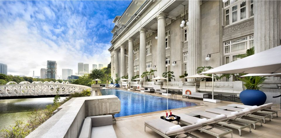 best hotels in singapore The 5 Best Hotels in Singapore You Need to Know About! The fullerton hotel singapore pool 2