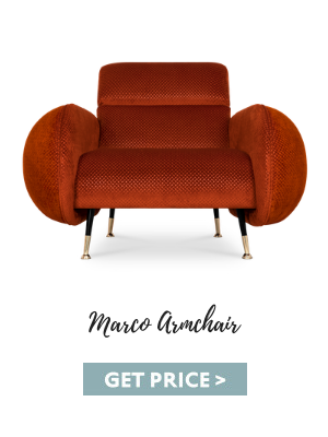 man cave What Makes the Perfect Mid-Century Man Cave? marco armchair