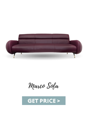 man cave What Makes the Perfect Mid-Century Man Cave? marco sofa