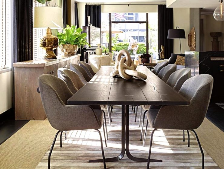 Discover David Dalton's Amazing Dining Rooms And Start Your Project! david dalton Discover David Dalton's Amazing Dining Rooms And Start Your Project! Discover David Daltons Amazing Dining Rooms And Start Your Project capa 740x560