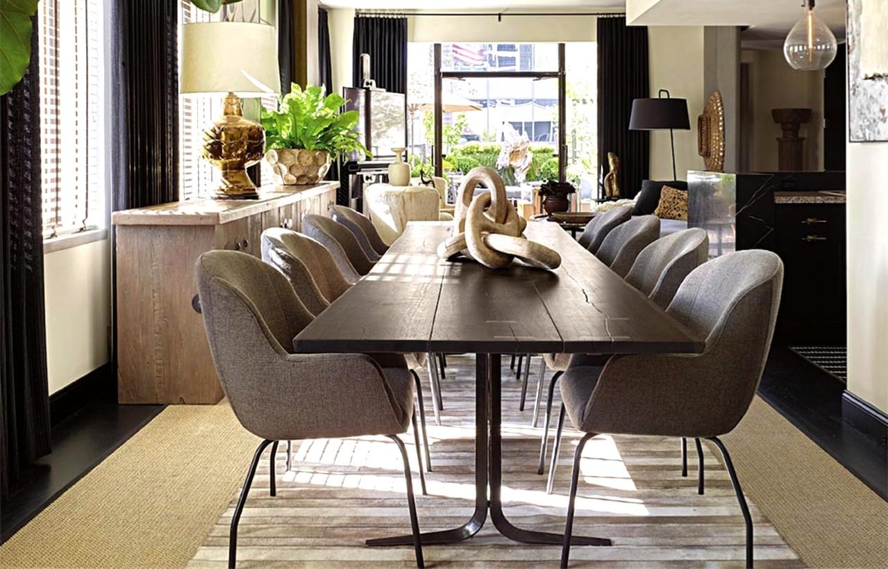 Discover David Dalton S Amazing Dining, Olinde 8217 S Dining Room Furniture Sets