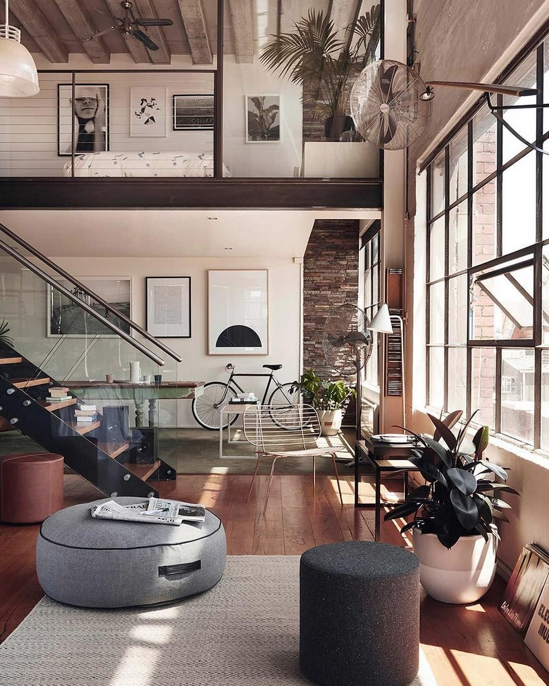 Essential Guide For The Perfect Industrial Style Home Decor  industrial style Check Out These 5 Industrial Style Tips That Will Blow Your Mind! bicla puff
