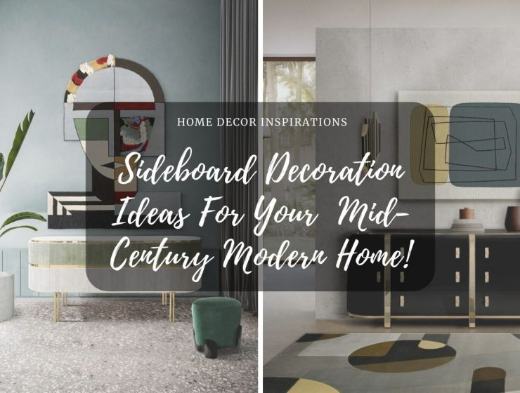 Sideboard Decoration Ideas For Your Amazing Mid-Century Modern Home! sideboard Sideboard Decoration Ideas For Your Amazing  Mid-Century Modern Home! industrial 1 740x560