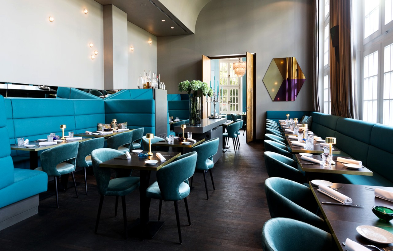 Pink Restaurant In London Inspirations Essential Home