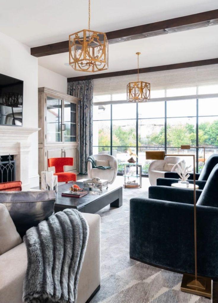 interior design projects 20 Impressive Interior Design Projects from Dallas 20 Impressive Interior Design Projects from Dallas 16 735x1024