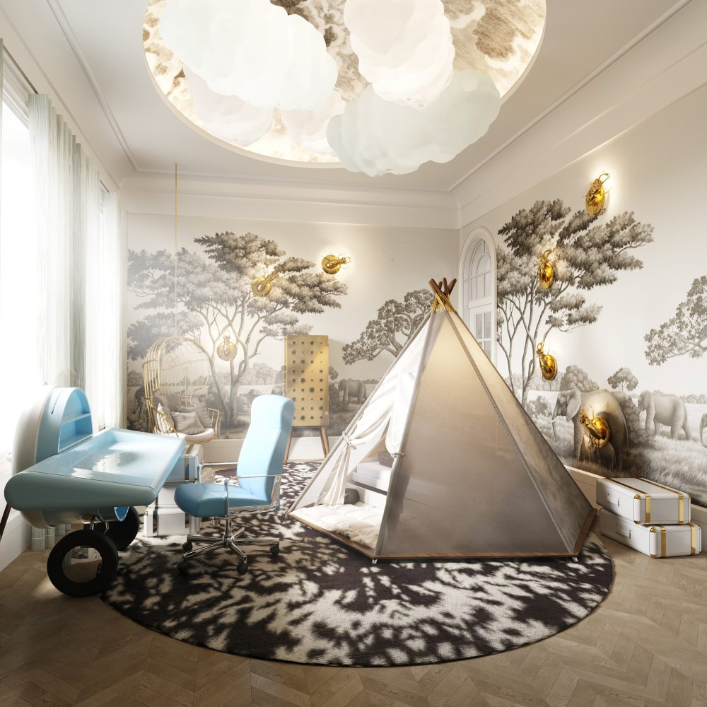 luxury kids room Luxury Kids Room Project: A Tale That Stops Time By Britto Charette Luxury Kids Room Project A Tale That Stops Time By Britto Charette 3