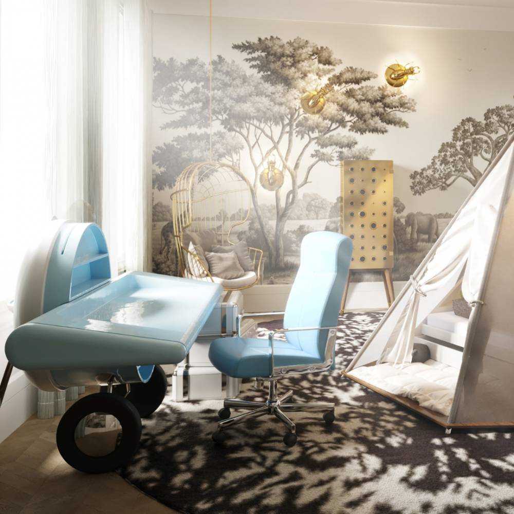 Luxury Kids Room Project A Tale That Stops Time By Britto Charette_4 luxury kids room Luxury Kids Room Project: A Tale That Stops Time By Britto Charette Luxury Kids Room Project A Tale That Stops Time By Britto Charette 4
